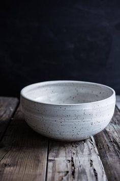 Large Hand Thrown Ceramic Bowl