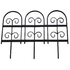 Shop for Wrought Iron Garden Fence Edging . Get free shipping at Overstock.com - Your Online Garden & Patio Outlet Store! Get 5% in rewards with Club O! - 16322478