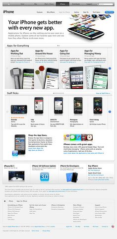www.apple.com/iphone/apps-for-iphone/     Start a mobile app business