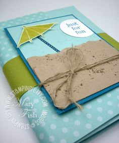 Stampin' Up! Fun Mini Album - Stampin' Up! Demonstrator - Mary Fish, Stampin' Pretty Blog, Stampin' Up! Card Ideas & Tutorials
