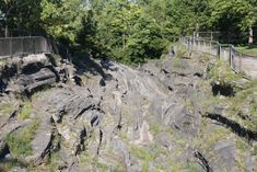 11 Hidden Gems In Ohio You Need To Check Out - Glacial grooves (Kelleys Island) One Day Trip, Day Trips, Kelleys Island Ohio, The Buckeye State, Cedar Point, Historical Landmarks, Vacation Places, Vacations, Train Rides