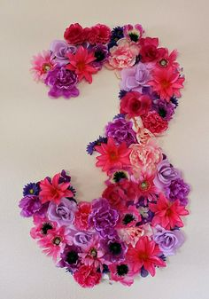 Floral Birthday Sign birthday party Pink and Purple Veggie Tales Theme Party // Hostess with the Mostess® Butterfly Birthday Party, Purple Birthday, Flower Birthday, Birthday Table, 3rd Birthday Parties, Cake Birthday, 4th Birthday, Birthday Wishes, Birthday Ideas