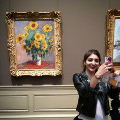 Selfie with #Monet por: shabnam_