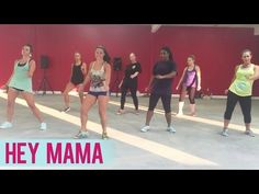David Guetta - Hey Mama ft. Nicki Minaj, Bebe Rexha & Afrojack (Dance Fitness with Jessica) - YouTube