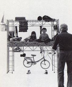 Bruno Munari –Habitacle, 1971