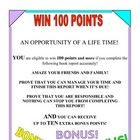 Kids love choices! My 100 Points Book Report  provides an excellent, humorous way to motivate students so that they will put the needed effort into...