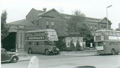 TL Catford bus garage - now a listed building!
