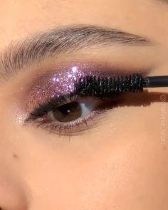 Makeup Eye Looks, Eye Makeup Steps, Cute Makeup, Smokey Eye Makeup, Eyeshadow Looks, Eyebrow Makeup, Eyeshadow Makeup, Pretty Eye Makeup, Blue Eyeshadow