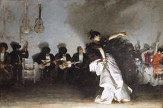 El Jaleo, 1882, John Singer Sargent, Oil on canvas , 232 x 348 cm