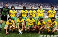 Fc Nantes, Vintage Football, Bordeaux, Club, Retro, Sports, Champions League, Childhood Memories, Hs Sports