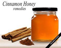 Home remedies using Cinnamon and honey