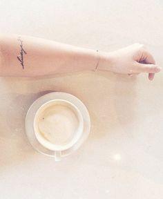 """Always"" tattoo"