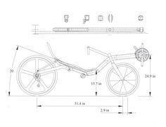 Bilderesultater for easy recumbent bike plan Recumbent Bicycle, Tandem Bicycle, Three Wheel Bicycle, Wood Bike, Scooter Custom, Reverse Trike, Moped Scooter, Balance Bike, Pedal Cars