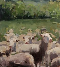 mark crenshaw paintings —bertelsen crenshaw art Landscape Art, Artist, Cow, Salt, Honey, Paintings, Garden, Garten, Paint