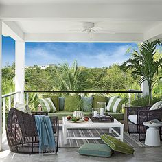 Great Escape - 47 Beachy Porches and Patios - Coastal Living