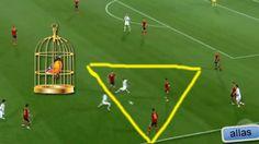 Video: España Sub 21 realizó la jaula de pájaro en la #Eurocopa . #Depor