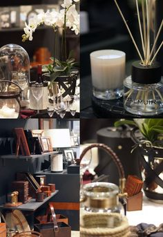 Balmuir fragfrance candles and diffucer, photo:Avec Sofie Paris Shows, Candles, Table Decorations, Events, Mood, Home Decor, Decoration Home, Room Decor, Candy