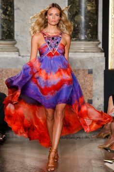 DORLY DESIGNS: Milan Fashion Week: Emilio Pucci RTW Spring Summer 2015