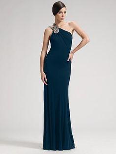 David Meister - Matte Jersey Gown - Saks.com
