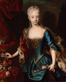 Future Holy Roman Empress & German Queen Maria Theresa, mother of Marie Antoinette among many other famous offspring, was an absolute sovereign.