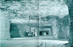 Salt mine 1200 feet below Detroit?  What.