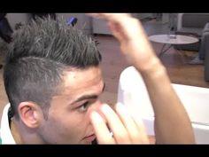 Men's hair - Neymar inspired hair style - from Cristiano Ronaldo hair - Styling By Vilain