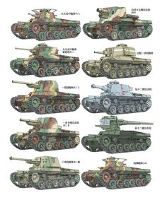gruene-teufel:  Japanese armored fighting vehicles of WWII