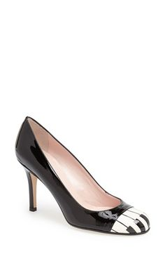 How fun are these piano key pumps?! Love, love. via @Nordstrom