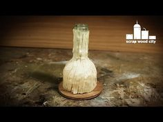 How to make a cut glass bottle lamp - YouTube
