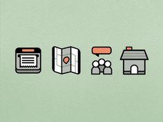 Dribbble - Iconography by Zach Roszczewski
