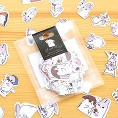 $1,33 - lot40 bunny stickers - Aliexpress