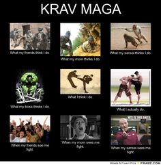 There is a lot of truth in this...especially the last box. (pardon the curse word if anyone cares) #kravmaga