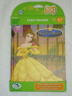 NEW LEAP FROG TAG EARLY READER BEAUTY AND THE BEAST AGE 4-7  #LeapFrog