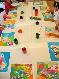 Batiks www.smallhandsbigart.com | Flickr - Photo Sharing!