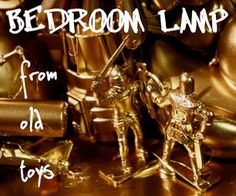 Bedroom Lamp From Old Toys Bedroom Lamps, Old Toys, Creative, Crafts, Diy, Decoration, Home Decor, Decor, Manualidades