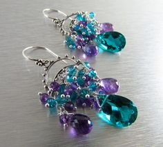 Hey, I found this really awesome Etsy listing at https://www.etsy.com/listing/220988327/peacock-teal-green-and-amethyst-sterling