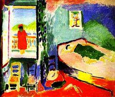 """""""Collioure Interior"""" 1905. Henri Matisse."""
