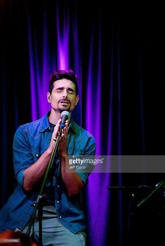 Kevin Richardson of the Backstreet Boys performs at the Q102 Performance Theater on June 24, 2013 in Bala Cynwyd, Pennsylvania.