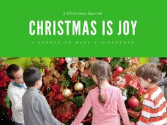Christmas is joy  Ch