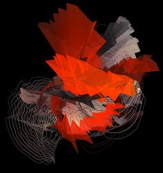 Unfold, a series of digitally generated organic compositions. Nick Taylor is a digital artist and illustrator who currently lives and works in Oxford, Abstract Words, Abstract Shapes, Abstract Art, Computer Art, Photography Illustration, Generative Art, Interactive Design, Installation Art, Digital Art