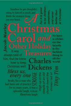 A Christmas Carol: And Other Holiday Treasures (Word Cloud Classics) by Charles Dickens