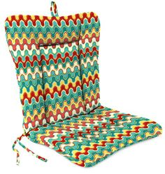 Universal Chair Cushion - Nivala Navajo. Love the colors and GREAT price:)