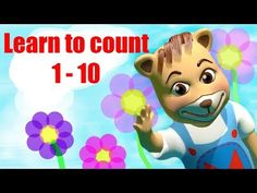 Learn to Count 1-10 | Numbers Song 1-10 | Count to 10 Song by Kachy TV Nursery Rhymes - Kids Songs - YouTube #nurseryrhymes #number #songs #kachytv