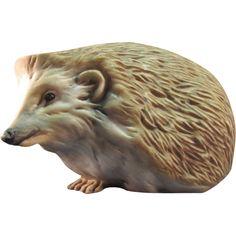 Kaiser Porcelain Hedgehog Figurine