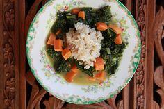 Joy the Baker Kale and Sweet Potato Soup - Joy the Baker