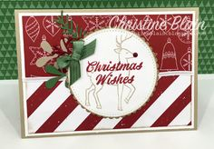 Stampin' Up! Santa's Sleigh and Merry Mistletoe - HAPPY HEART CARDS: THE HEART OF CHRISTMAS #5