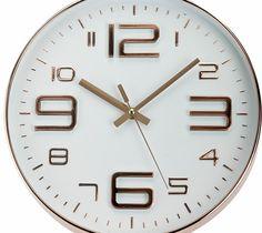 Pomysłowy zegar do wnętrz o nowoczesnym stylu