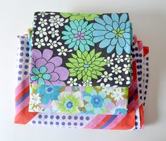 Color of the Week: PURPLE! Vintage sheet love. From Jenny