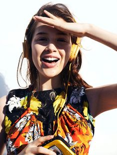 Anais Pouliot in Push It by Benny Horne for Oyster Magazine