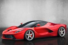 La Ferrari, a 900hp hybrid supercar